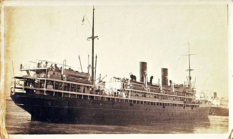 'Cesare Battisti' - Transatlantica Italiana - 1922 5_nave23