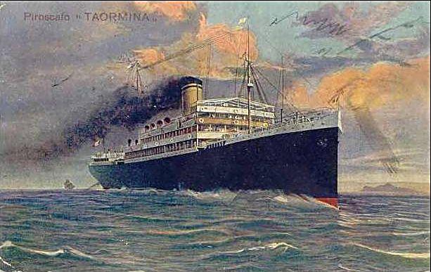 'Taormina' - Italia Soc. Nav. a Vapore - 1908 5_nave26