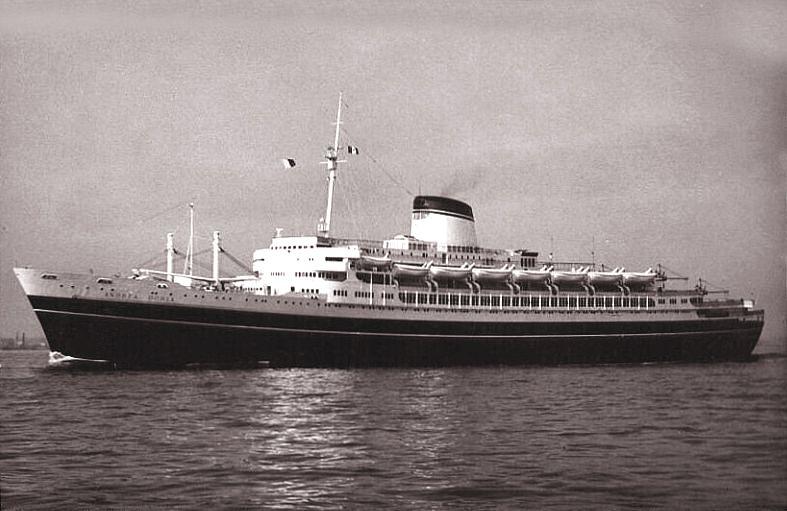 'Andrea Doria' - Italia - 1952 5_nave28