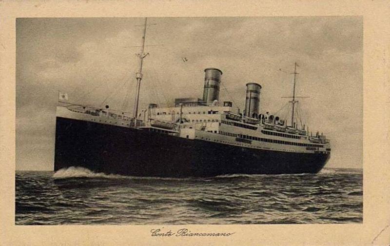 'Conte Biancamano' - Lloyd Sabaudo - 1925 5_nave29