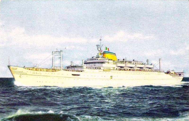 'Europa' - Lloyd Triestino - 1952 5_nave40