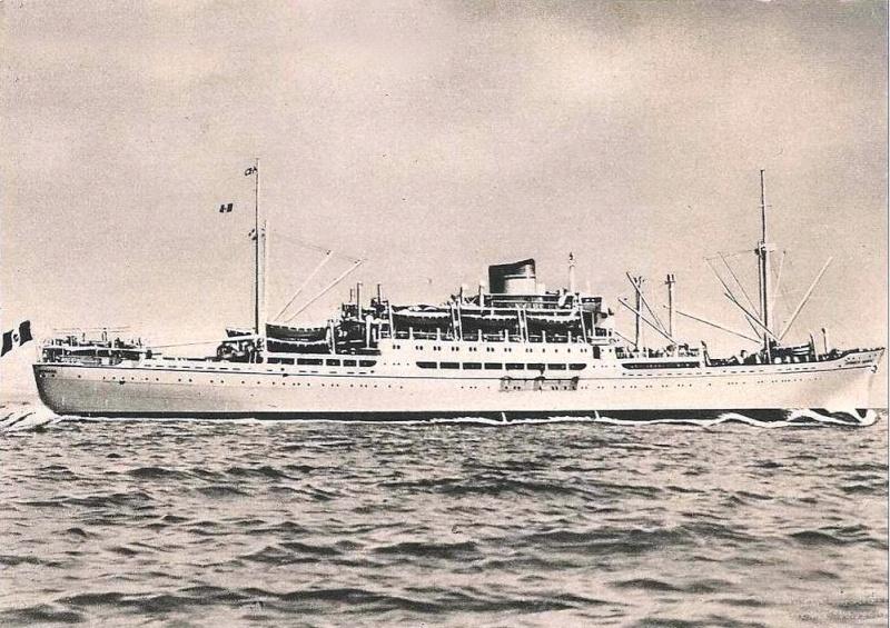 'Antoniotto Usodimare' - Italia - 1942 5_nave43