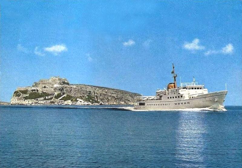 'Daunia' - Adriatica -  1965 5_nave57