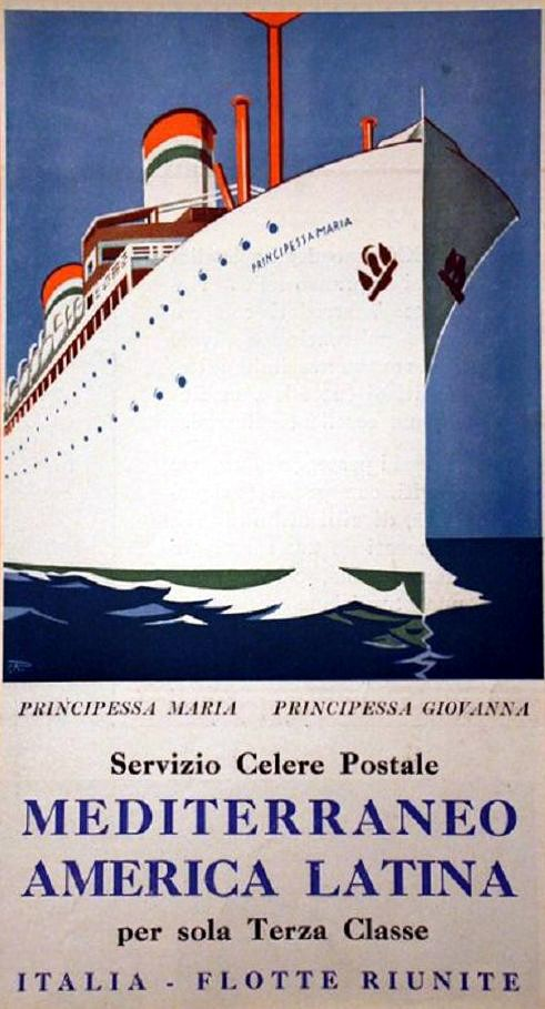 'Principessa Maria' - Lloyd Sabaudo - 1923 5_prin11