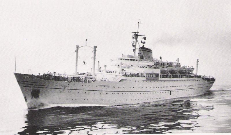 'Victoria' - Lloyd Triestino - 1952 5b_nav10