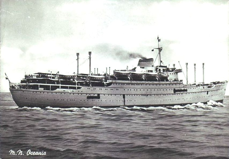 'Oceania' - Lloyd Triestino - 1951 6-nave10
