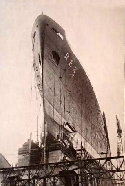 'Rex' - Italia - 1932 6-nave13