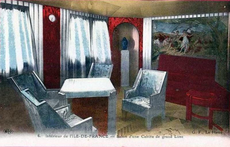 'Ile de France' - C.G.M. - 1926 60_14c10