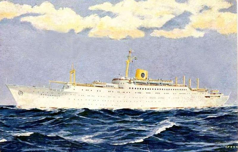 'Stockholm' - Svenska-America Linjen - 1948 6_4_st10