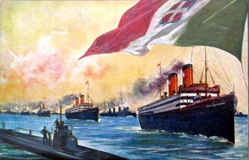 'Dante Alighieri' - Transatlantica Italiana - 1915 6_5dan10