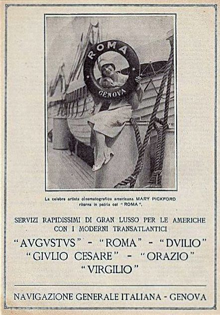 'Roma' - N.G.I. - 1926 6_nave12