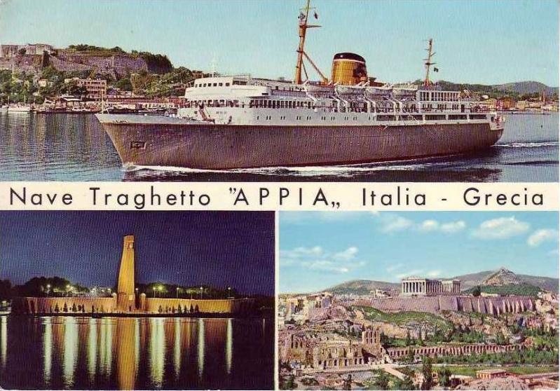 'Appia' - Adriatica - 1961 6_nave17