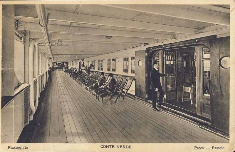 'Conte Verde' - Lloyd Sabaudo - 1923 6_nave31