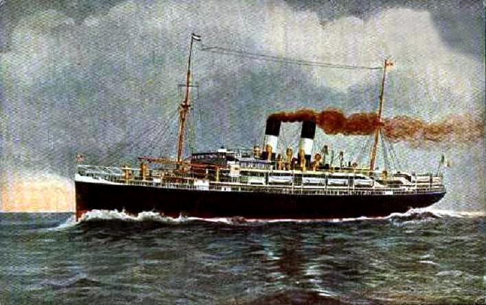 'Indiana' - Lloyd Italiano - 1905 6_nave33