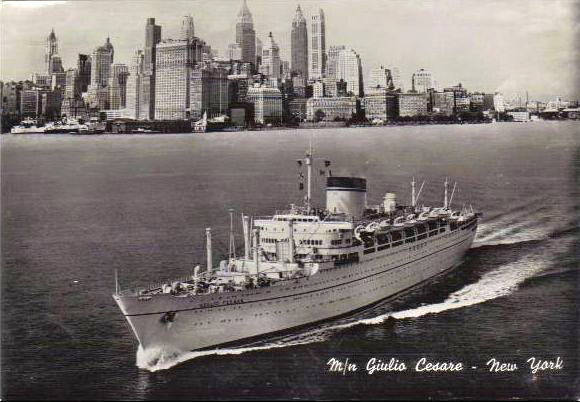 'Giulio Cesare' - Italia - 1951 6_nave35