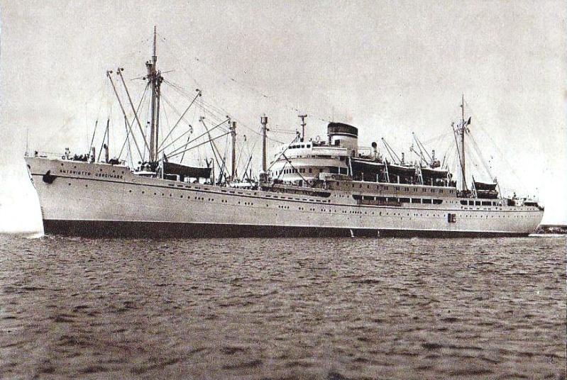 'Antoniotto Usodimare' - Italia - 1942 6_nave48