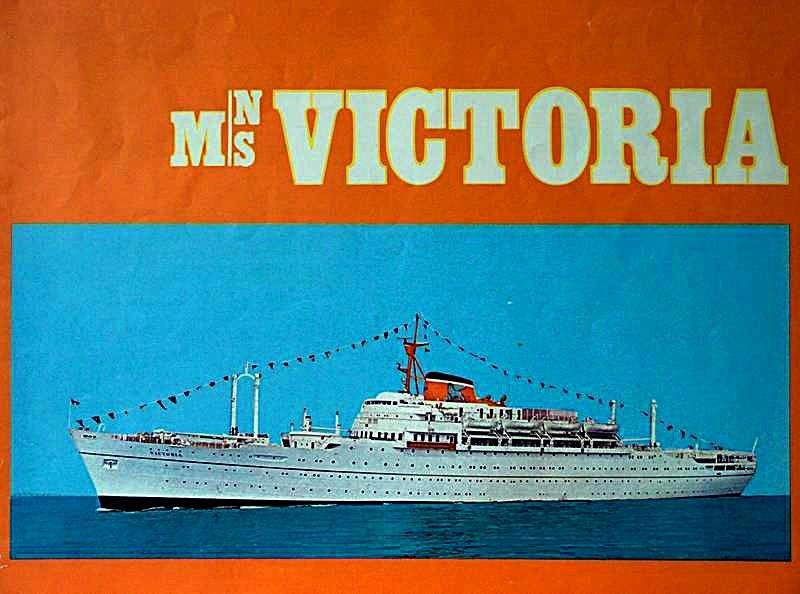 'Victoria' - Lloyd Triestino - 1952 6a_adr10