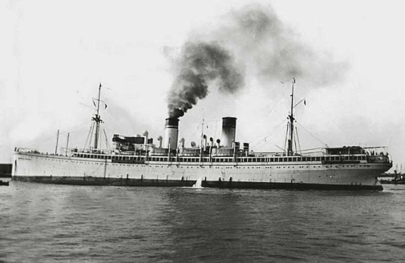 Principessa Giovanna' - Lloyd Sabaudo - 1923 6a_pri10