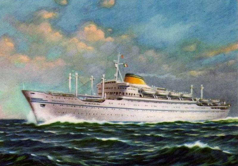 'Oceania' - Lloyd Triestino - 1951 7-nave10