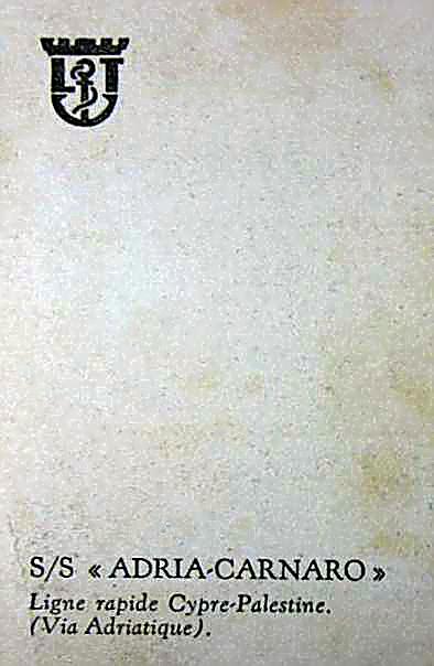 'Carnaro' - Adria S.A. - 1913 7_5car10