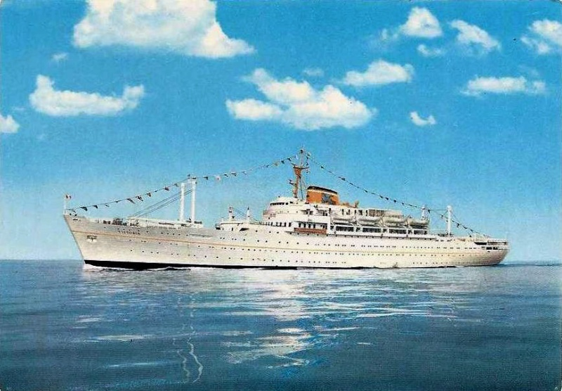 'Victoria' - Lloyd Triestino - 1952 7_adri10
