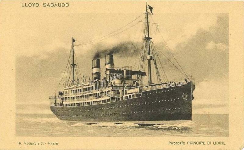 'Principe di Udine' - Lloyd Sabaudo - 1907 7_nave11