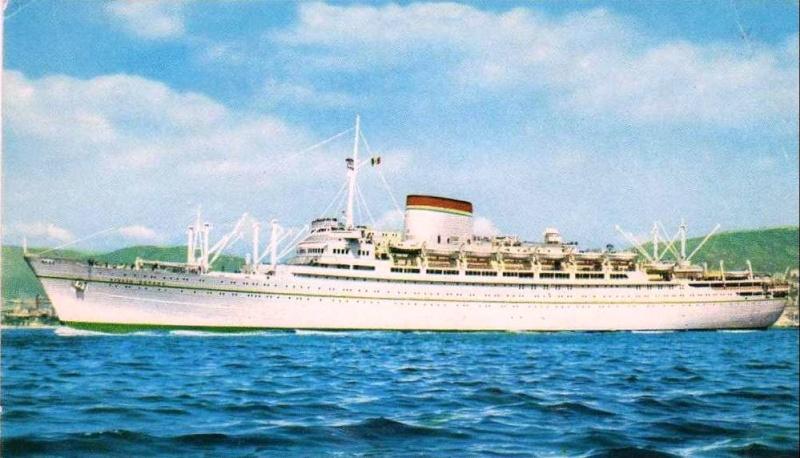 'Giulio Cesare' - Italia - 1951 7_nave34