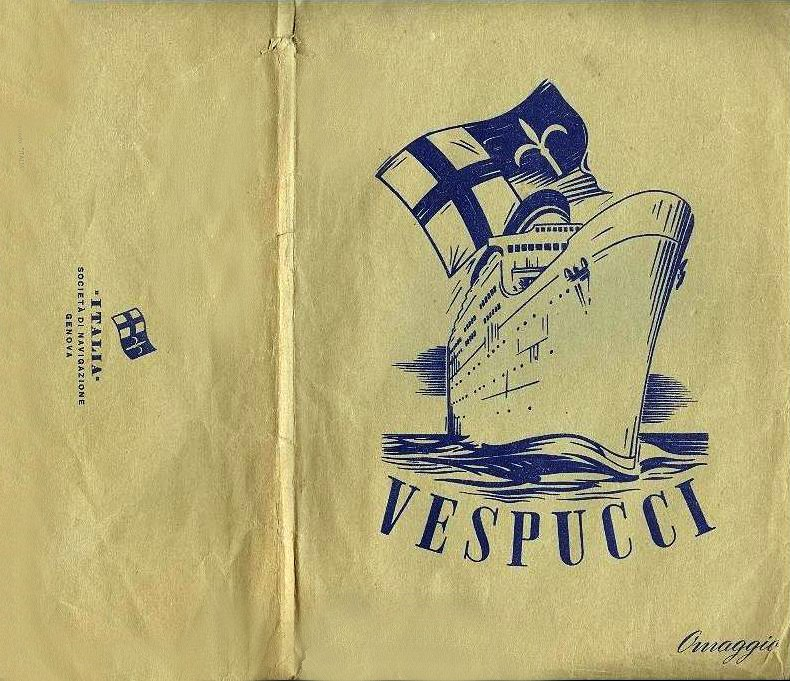 'Amerigo Vespucci' - Italia - 1942 7_nave37