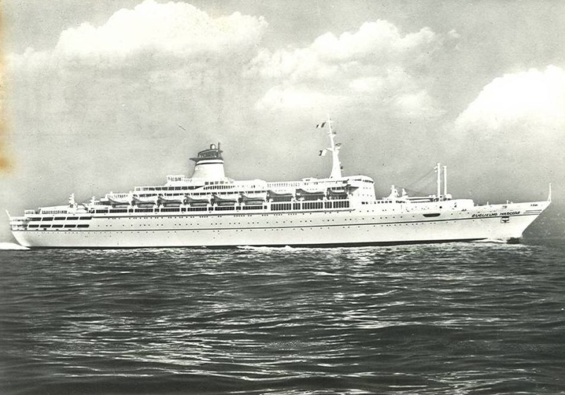 'Guglielmo Marconi' - Lloyd Triestino - 1963 7_nave38