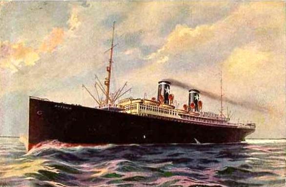 'Ausonia' - Sitmar - 1928 7_nave48