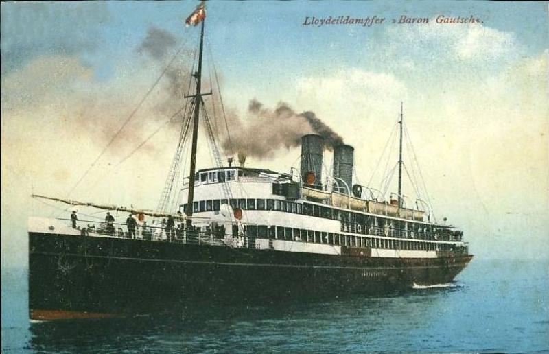 'Baron Gautsch' - Österreichischer Lloyd - 1908 7_nave55