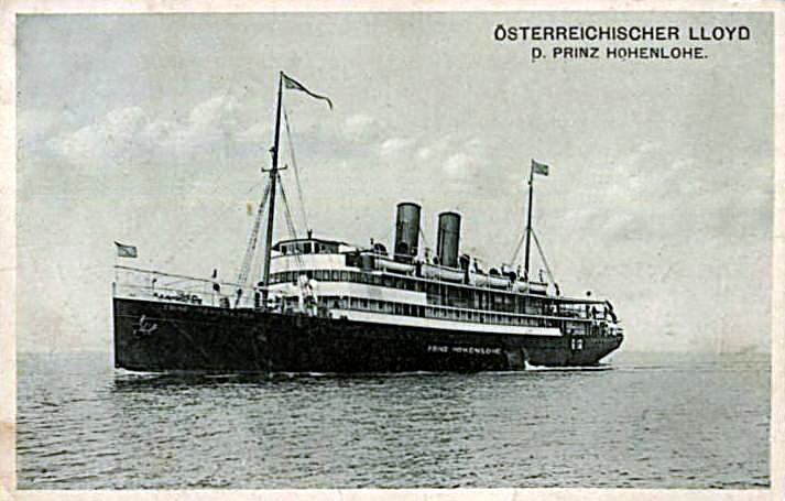 """""""Prinz Hohenlohe"""" - Österreichischer Lloyd - 1908 7_prin10"""