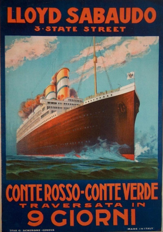 'Conte Verde' - Lloyd Sabaudo - 1923 7a_llo10