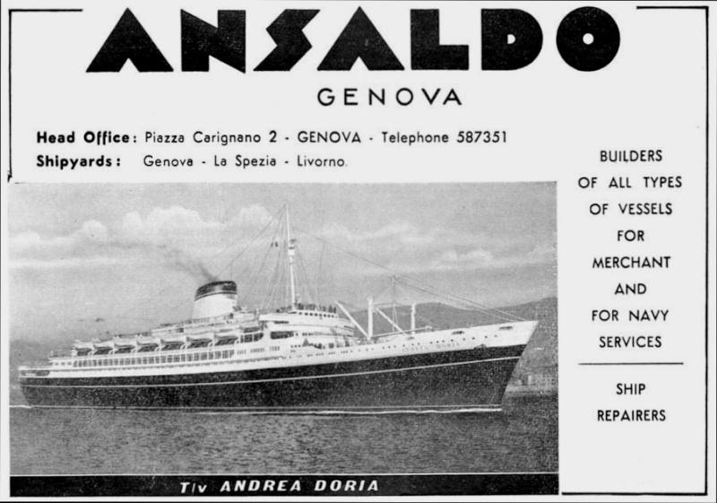 'Andrea Doria' - Italia - 1952 7a_sen10