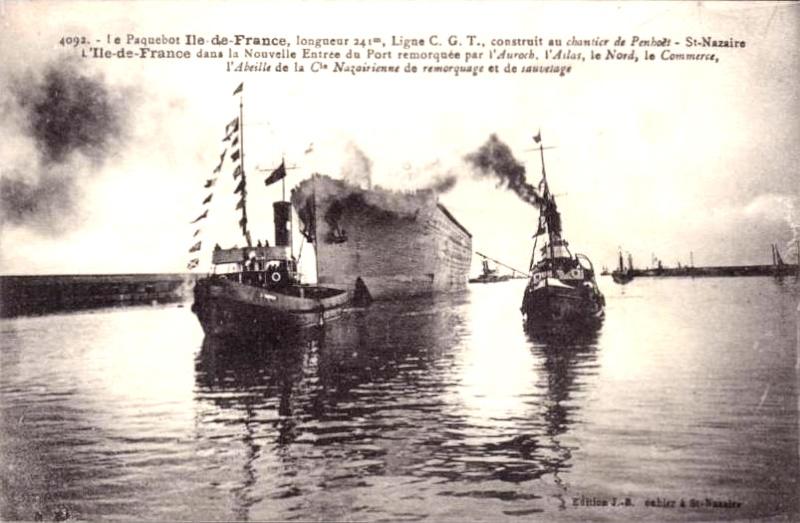 'Ile de France' - C.G.M. - 1926 8_6var10