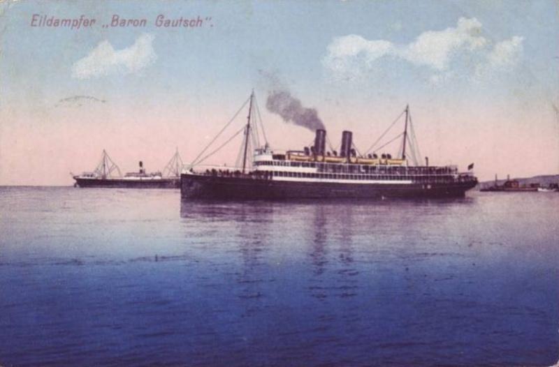 'Baron Gautsch' - Österreichischer Lloyd - 1908 8_gia_10