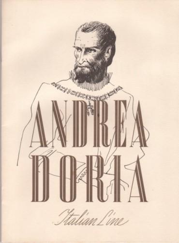 'Andrea Doria' - Italia - 1952 8_nave21