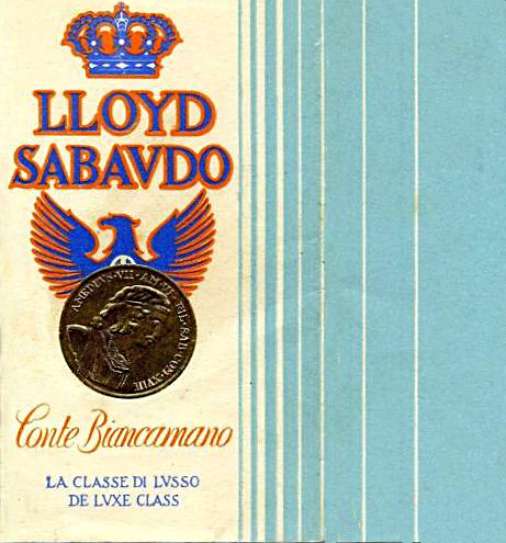 'Conte Biancamano' - Lloyd Sabaudo - 1925 8_nave25