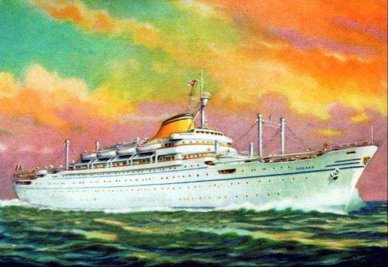 'Europa' - Lloyd Triestino - 1952 8_nave37