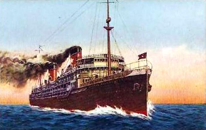 'Virginia' - Lloyd Italiano - 1906 8_nave41