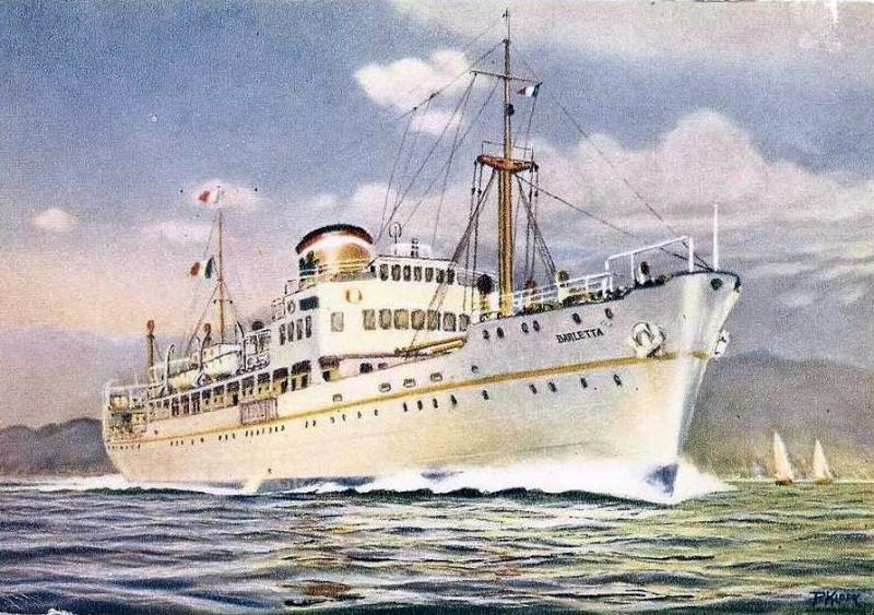 'Barletta' - Puglia S.A. di Nav. a Vap. - 1931 9-8bar10