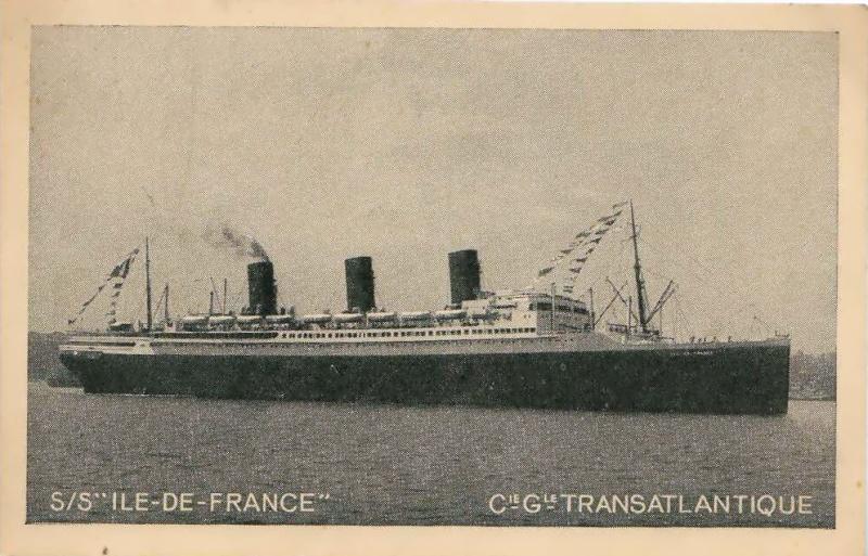 'Ile de France' - C.G.M. - 1926 9_7pru10
