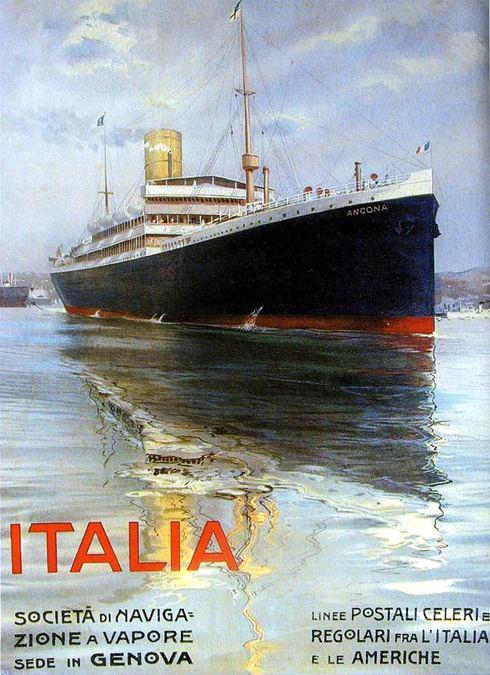 'Ancona' - Italia Nav. a Vap. - 1908 9_anco10