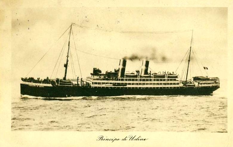 'Principe di Udine' - Lloyd Sabaudo - 1907 9_nave10