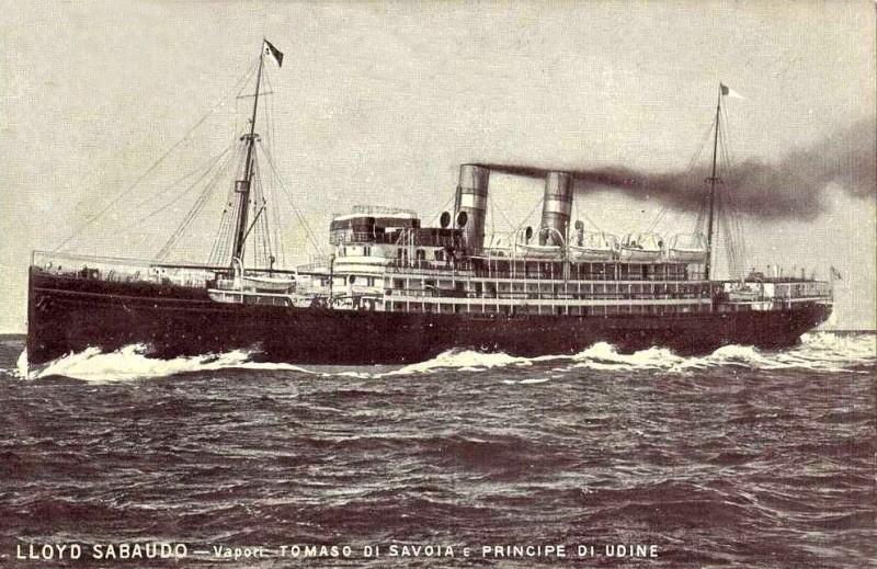 'Tomaso di Savoia' - Lloyd Sabaudo - 1907 9_nave16