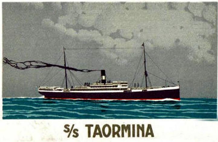 'Taormina' - Italia Soc. Nav. a Vapore - 1908 9_nave18