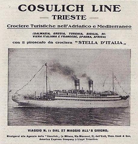'Stella d'Italia' -  anche Cosulich - 1904 9_nave19