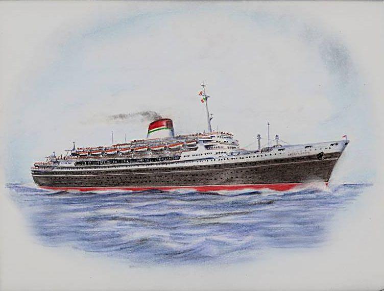 'Andrea Doria' - Italia - 1952 9_nave23