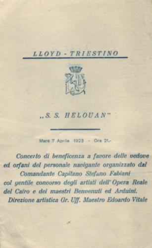 'Helouan' - Österreichischer Lloyd - 1912 9_nave24