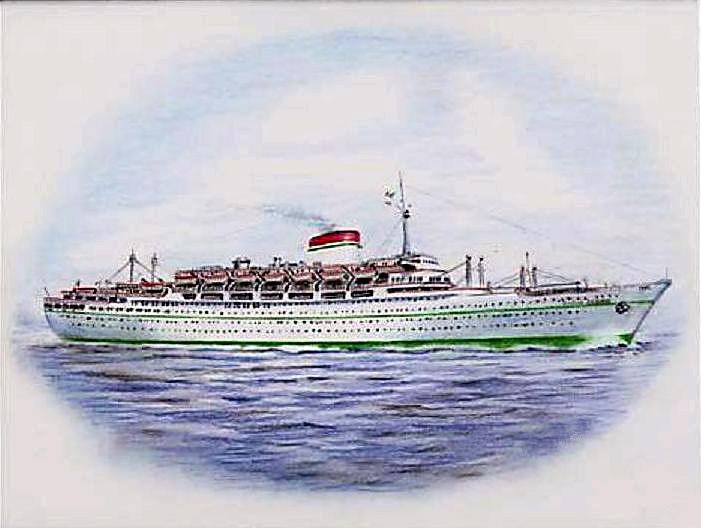 'Giulio Cesare' - Italia - 1951 9_nave32